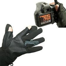New Photography Gloves For Nikon Camera D7100 D800 D5200 D4 D3200 D90 D80