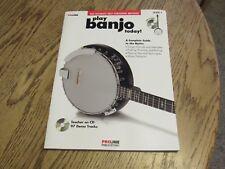 Play Banjo Today L-1 w/ Cd by Colin O'Brien, Proline Publications 2008 (O-#462)