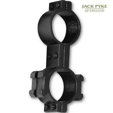 JACK PYKE SCOPE LIGHT MOUNT AIR RIFLE SHOOTING HUNTING 25MM RIMFIRE GUN TORCH