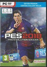 Pro Evolution Soccer 2018 Premium Edit multil PC Nur der Steam Key Download Code