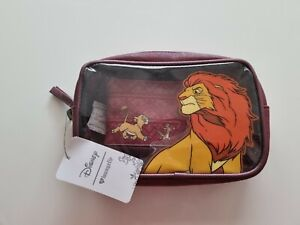 Disney Loungefly Lion King Toiletry Bag New