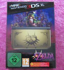 New Nintendo 3DS XL Zelda Majora´s Mask 3D Limited Edition Pack Konsole OVP, Neu