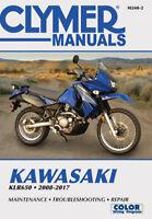 Kawasaki KLR650 Repair Manual 2008-2017