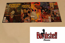 Howard the Duck 1-5 Complete Zdarsky Comic Lot Run Set 1st Print Collection