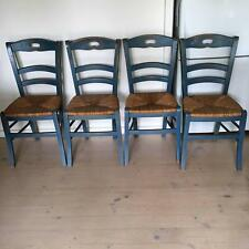 4 French Provincial Shabby Chic chairs. Cottage style