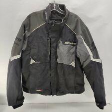Ski-Doo Rotax Xp-S Racing Snowmobile Jacket Men Xl w Lining Recco Brp Gray Black