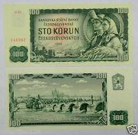 Czechoslovakia 100 Korun Banknote 1961 UNC