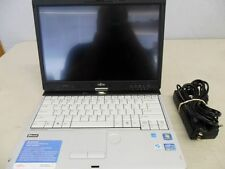 Fujitsu Lifebook T901 Tablet PC i5-2.5ghz 4gb 250gb WebCam Extra Battery HDMI