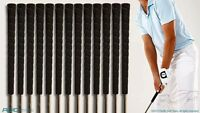 NEW 16 TACKI MAC GOLF GRIPS MADE IN THE USA BLACK KNURL WRAP CLUB PRIDE GRIP SET