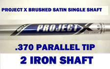 Rare Satin Rifle Project X Single 2 IRON Shaft 6.0 STIFF+370 Parallel tip Steel