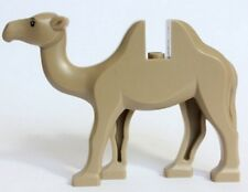 LEGO CAMEL ~ RARE RETIRED Beige / Dark Tan MINIFIGURE ANIMAL PET Authentic  NEW