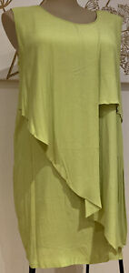 plus sz XXS/ 12 TS Virtu TAKING SHAPE Bahamas Drape Dress Layered NWT!Rrp 130