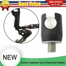1Pc Archery Stabilizer Quick Disconnect Adapter Detach Balance Bar Rod Bow Join