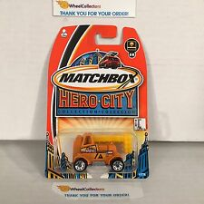 Emergency Power Truck #68 * Orange * Matchbox Hero City * C28