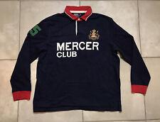 New listing Polo Ralph Lauren PRL Club Mercer Crest Rugby Shirt XXL Long Sleeve Pony