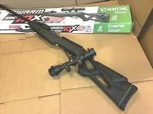 Gamo Swarm Hornet 10X .22 Caliber 10 Shot Break Barrel Air Rifle with Scope