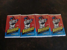 2009 Upper Deck O-Pee-Chee Baseball---Hobby Packs---Lot Of 4---6 Cards/Pack