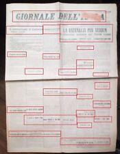 WW1-IL TRENTINO SOTT'ASSEDIO -DEL 14-05-1916 N.2052