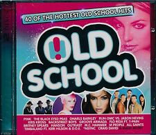 Old School 2-disc CD NEW Pink Black Eyed Peas Rum DMC Groove Armada Nsync Spears