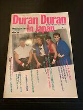 1984 Duran Duran In Japan Tour Book