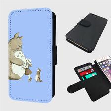 TOTORO CUTE BLUE HUGS - Flip Phone Case Cover - Fits iphone / Samsung