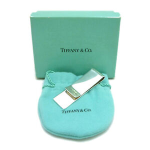 Authentic Tiffany & Co. 1837 Money Clip 925 Sterling Silver #S111158