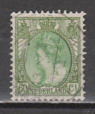 NVPH Netherlands Nederland 76 SPECIAL CANCEL Wilhelmina 1899-1921 bontkraag