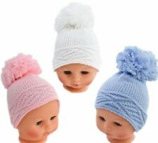 4cfcd6229 Blue Knitted Baby Caps & Hats for sale | eBay