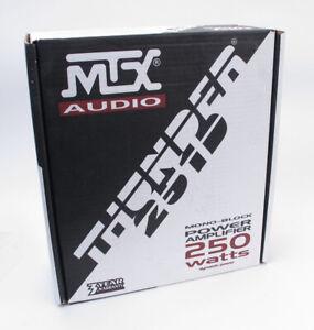 MTX Thunder 251D 250Watt 1-Channel/Mono-Block Car Amplifier -  New in Box!
