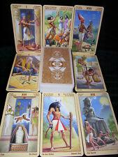 SEALED NEW ~ RAMSES EGYPTIAN TAROT CARD DECK ORACLE EGYPTIAN MYTHOLOGY & RITUAL