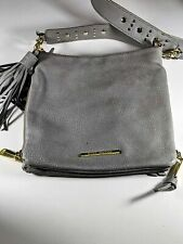 Steve Madden gray and gold Studded Crossbody