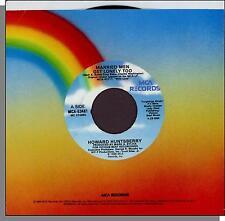 "Howard Huntsberry - Married Men Get Lonely Too + Instrumental - 7"" Single!"