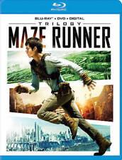 Maze Runner Trilogy (Blu-ray Disc, 2018)