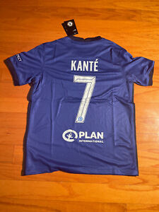 Kante #7 Chelsea 20/21 UEFA Champions League Final Football Jersey Medium