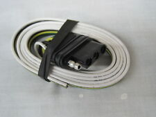 MOTORCYCLE TRAILER Flat Trailer Wiring Plug (44S) Needed to wire-up a trailer.