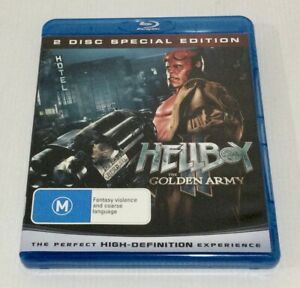 Hellboy The Golden Army Blu-ray 2-Disc Set