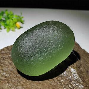188g Green GEM MOLDAVITE Meteorite Impact Glass Czech