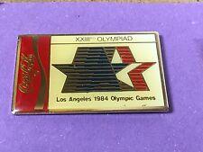 pins pin sport jo 1984 olympique coca cola