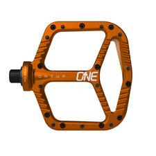 OneUp Components Aluminum platform pedals, orange