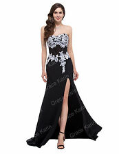 Chiffon Long Prom Party Bridesmaid Masquerade Dress Evening Prom Party Ball Gown