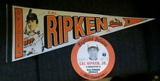 English's 1983 World Champion Orioles CAL RIPKEN, JR. Chicken Disk & MVP Pennant