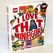LEGO I Love That Minifigure Book with Zombie Skateboarder minifigure (NEW) by DK