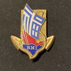 Original French Badge Battalion Indochinois Marines Vietnam