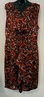 Ladies size 18 silky Feel dress - Jacqui E