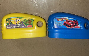 Fisher Price Smart Cycle Game Cartridge Lot 2 Hot Wheels & Learning Adventure