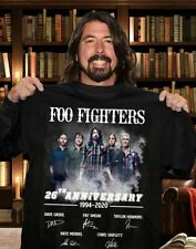 Dave Grohl Foo Fighters 26th Anniversary 1994 2020 Signature T Shirt