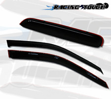 Sun roof & Window Visor Wind Guard Out-Channel 3pcs For 1994-2001 Acura Integra