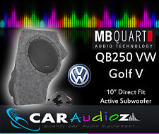 MB Quart qb-250 GOLF V casella attivo 25cm ATTIVO SUBWOOFER CUSTOM BOX qb250 GOLF V