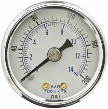 Heavy Duty Compressor Air Gauge Fits Devilbiss Dewalt Z-D23004