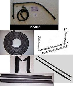 1982-1992 Camaro/Firebird Hard Top Complete Weather Stripping Kit *HTWSKIT